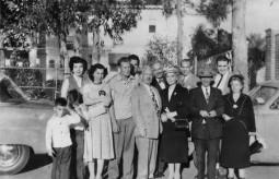 Chlentzos family in Los Angeles c. 1954-..