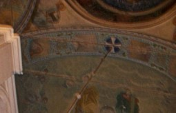 More frescoes on the roof of the Church..