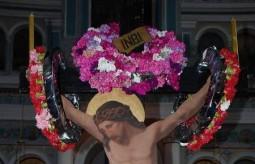 Christ on the Cross - Ilariotissa Church..