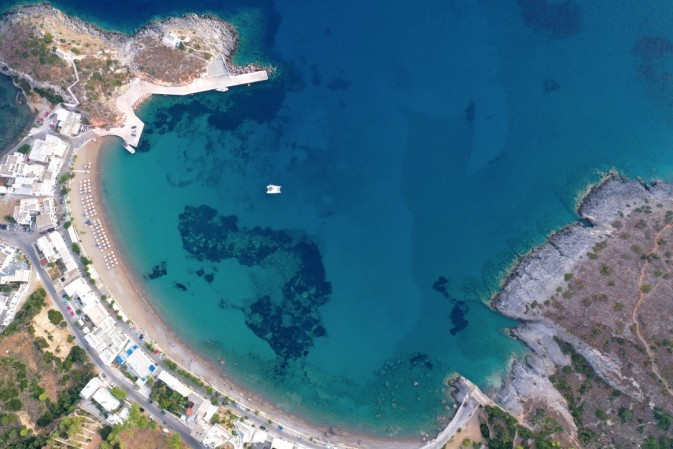 Gull's-eye view of Kapsali