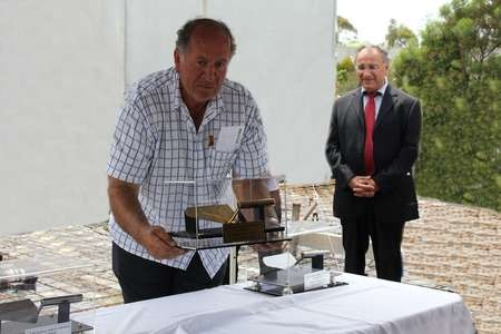 The Foundation Stone is set, at the ceremony held on the church site of Saint Haralambos, Tuggerah - 07 A Saint Harry Seven