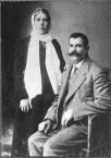 Constantine Fardoulis and wife Helen Katsoulis
