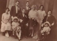 Wedding of Dimitrios & Stamatia Aroney in 1926