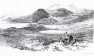Edward Lear's view of Hora and Kapsali
