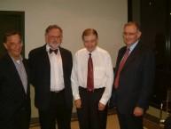 Peter J Comino, Peter Prineas, Prof. Manuel Aroney & Angelo Crones.