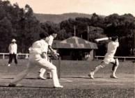John Calopedis. Master batsman.