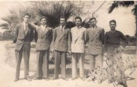 Con Gavrilis and friends at Port Said going to Australia