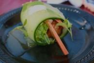 San Diego Bay Wine & Food Festival 2012, winning dish prepared by Tommy Fraioli, Executive Chef of Sea Rocket Bistro.