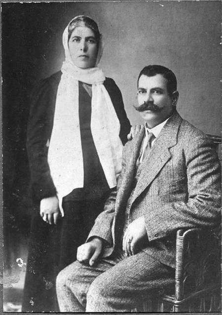 Constantine Fardoulis and wife Helen Katsoulis