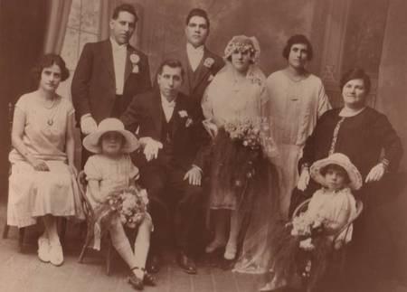 Wedding of Dimitrios & Stamatia Aroney in 1926