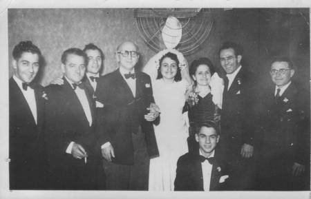 1948 wedding of George Casimatis and Maria
