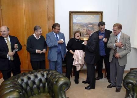 The Leontsini delegation...