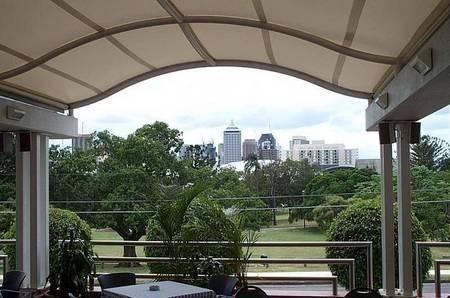 The Greek Club, Brisbane. View form the Taverna.