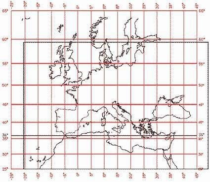 Map 3. Assigning map projections to portalan maps.