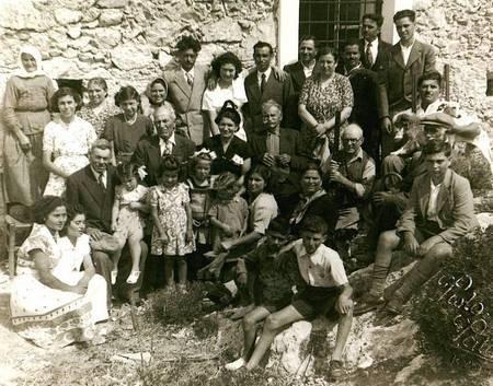 Gathering in Karvounades or Keramouto 1953