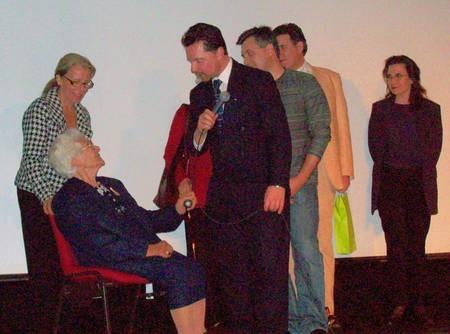 Panayotis Diamadis interviewing 87 year old Thespina Tourva
