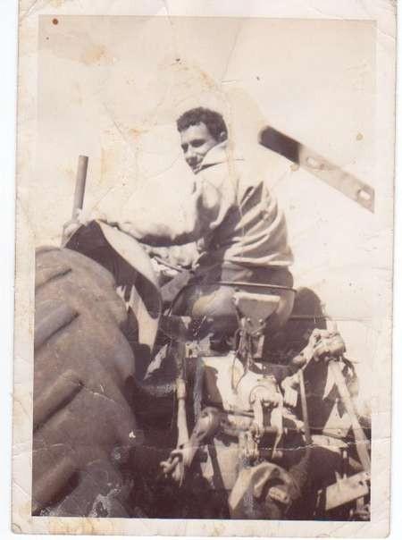 Leslie Comino on Theo Comino's farm in Merriwa nsw