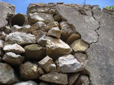 wall still standing