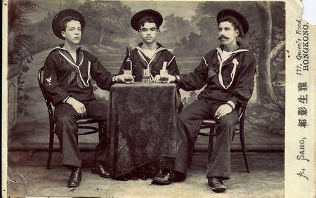 2 Kytherian sailors in Hong Kong in 1900