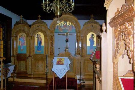 Altar. Chapel. First Floor. Monastery at Geelong. - Alter Church Monastery Geelong