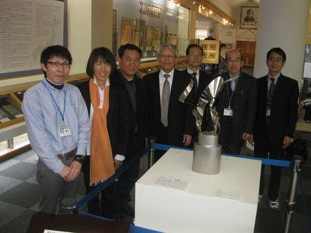 At the Lafcadio Hearn Kwaidan Exhibition - IMG_7534