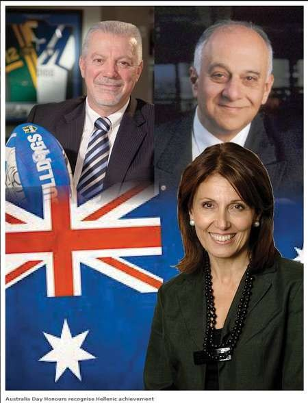 Australia Day Honours recognise Hellenic achievement - Australia Day Honours recognise Hellenic achievement 2