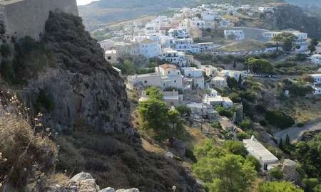 Is Kythira the perfect Greek island? - Guardian View of Hora from its castle