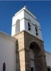 Belltower of a church in Hora