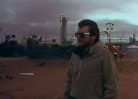 Byron Kennedy at the start of Mad Max II