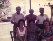 Con George Poulos, family and friends, On Kythera. 1975.