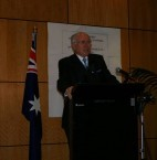 Opening of Conference by Australian Prime Minister
