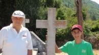Athanasios Dimitriou Tsauosis Headstone, Viaradika Cemetery