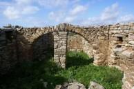 Arch in old building at Agios Demetrios