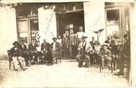 Anastasios Megaloeconomos at the kafeneion