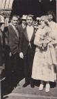 Bretos Margetis and Theodora Lianos outside Agia Triatha
