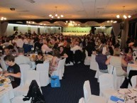 The vast audience in attendance at the Kytherian Association of Australia dinner dance