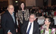 Angelo Notaras, with good friends Rene Condoleon, and Irinie and Angelo Crones