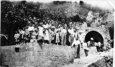 Spring at Mitata pre 1952