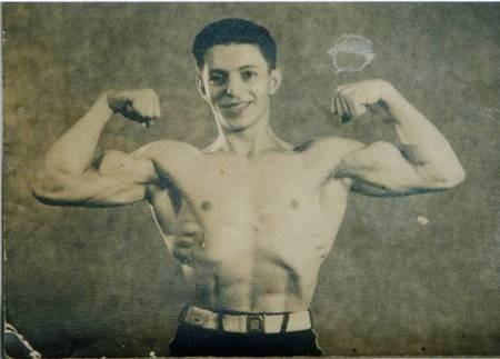 Peter Panaretos in the 1940's