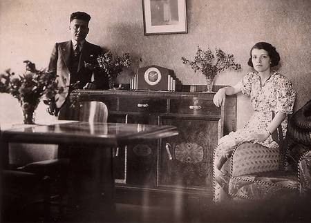 Stratis and Phofo Tzannes in Sydney, 1940