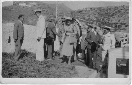 King Paul and Queen Frederika in Kythera  1948