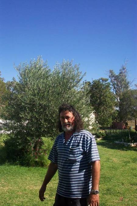 George Divas, head of the sole Greek family left in Gilgandra. 2004.