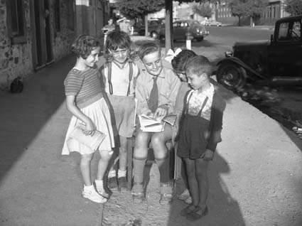 English school, for Greek kids. 1957.