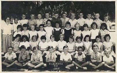 Two Kytherian children, at Gilgandra Primary School, Year 3, 1960.