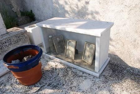 Photos at Grave of Panagiotis Ant. Kasimatis, Drymonas