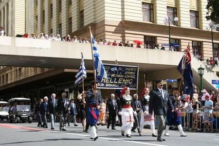 The Anzac Parade