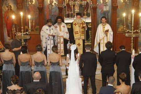 married by a bishop .... !!