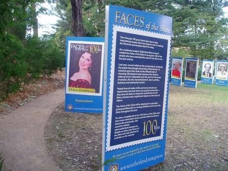 """Helen Zerfos - one of """"the faces of Sutherland Shire"""""""