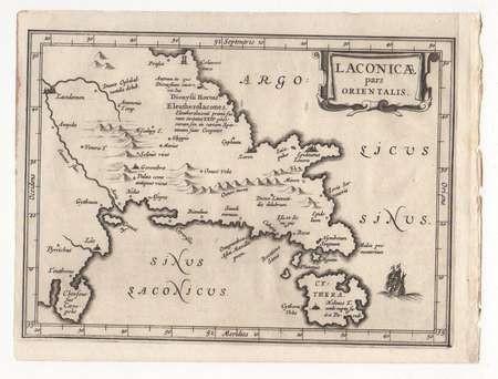 LAURENBERG 1660 MAP