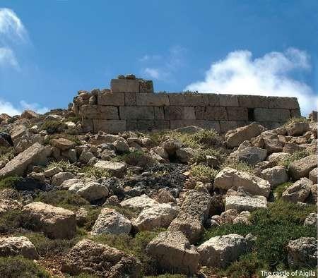 Antikythera - a key to Greece's prosperity - The Castle of Aigila, Antikythera